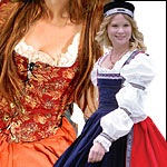 Womens Medieval and Renaissance Clothes Clothing Dresses Bodices Corsets Skirts and Wench Wear