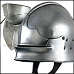 Decorative Medieval Helmets are Lightweight