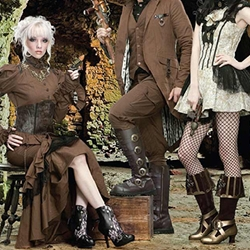 Steampunk and Gothic Footwear