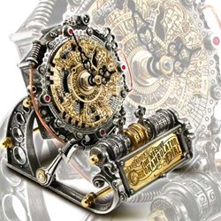 Steampunk and Gothic Home Decor and Tablewear
