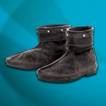 Suede Viking Ankle Boots 100860