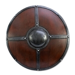 Round Viking Shield - 23 inches