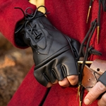 Leather Theif Gloves - Black