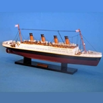 Titanic Wooden Model Ship 20 Inches - Limited Edition