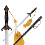 Chinese Sword with Tassel and Scabbard