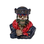 Pirate Skeleton Bust