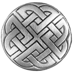 Celtic Knot Button 107.0752