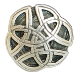 Round Celtic Knot Button 107.0717
