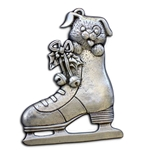 Puppy in an Ice Skate Christmas Ornament 119.0119