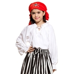 Girl's Pirate Shirt 22-C1263