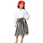 Girl's Striped Pirate Skirt C1266