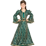 Child's Brocade Medieval Gown C1272