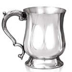 Georgian Pewter Tankard One Pint EP027