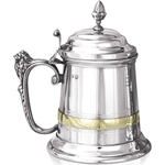Churchill Extra Heavy One Pint Pewter Tankard