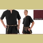 Medieval Tunic, Burgundy, Extra Large