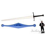Synthetic Longsword Guard-Blue PR2013