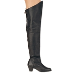 Thigh High Maiden Leather Boots