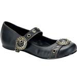 Daisy Steampunk Mary Jane Flats 34-3055
