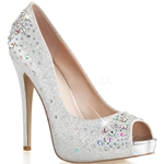 Heiress Rhinestone Pumps
