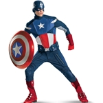 The Avengers Captain America Elite Costume
