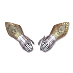 Decorative Embossed Gauntlets  AA2102