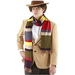 Doctor Who Fourth Doctor Scarf- 6 Feet Long