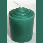Fifteen Hour Green Votive Candle 45-CVAG