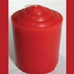 Fifteen Hour Red Votive Candle 45-CVAR