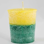 Palm Oil Votive Candle - Patchouli Amber 45-CVSPPA