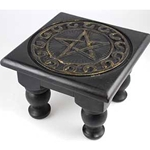 Small Square Pentagram Altar Table 45-RAT1S