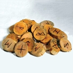 Natural Willow Rune Set 45-RRWIL