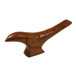 Wooden Bird Saddle Block - Roosebeck