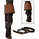 Leather Boot Garters 48-12000