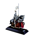 Mini Mounted French Armored Knight of Richard the Lionheart