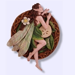Apple Tree Fairy Wall Plaque 64-ATF