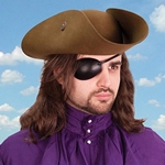 Leather Eye Patch - Right Eye 801854