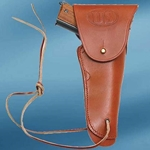 US WWII Issue .45 Hip Holster Brown 803166