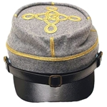 Civil War Officer's Kepi - Captain Blue or Gray AC788