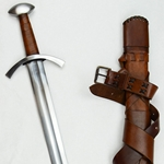 Sword of Saint Maurice with Integrated Scabbard Belt