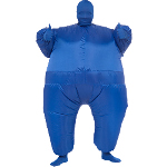 Blue Inflatable Adult Suit  100-217466