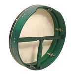 Tunable Mulberry Bodhran T-Bar 16 x 3.5 Inch - Green