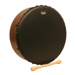 Remo Irish Bodhran - Acousticon Shell - Bahia Bass Head 14 x 4.5-Inch