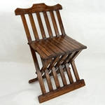 Medieval Wooden Folding Chair,Medieval Folding Chair,Medieval Chair,Medieval Camp Chair