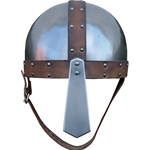 Leather Trimmed Spangenhelm Angled Nasal GH0136