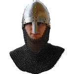 Hastings Battle Helm With Camail Chainmail GH0164