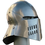 Fantasy Sallet Helm Articulated Tail