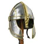 Horse Lord Helmet - 18 Gauge Steel