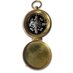 Civil War Officers Compass - Brass