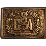 Officers Belt Buckle 1851 ONC06