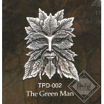 Green Man Pendant TPD002